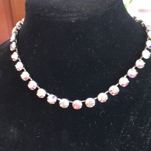 Crystal AB GLITZ NECKLACE Touchstone Crystals